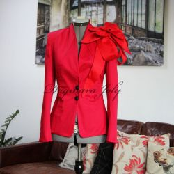 Red ladies jacket