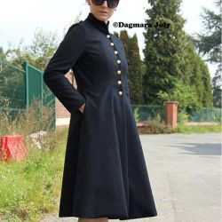 Ladies black coat
