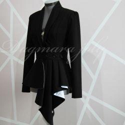 Black skirt suit