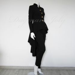 Black pants ladies suit