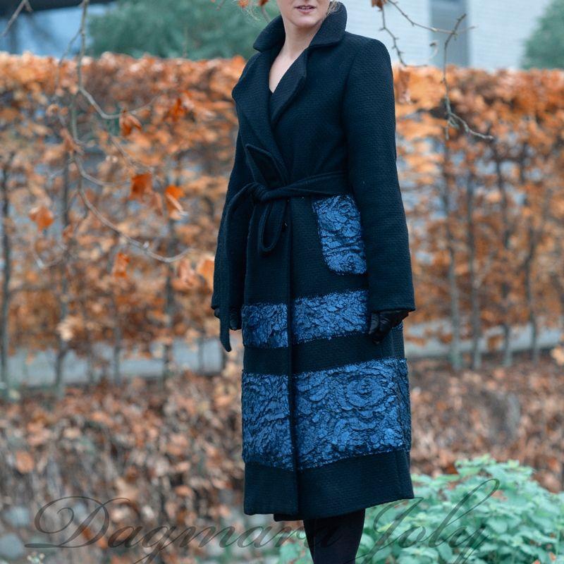 Ladies black coat