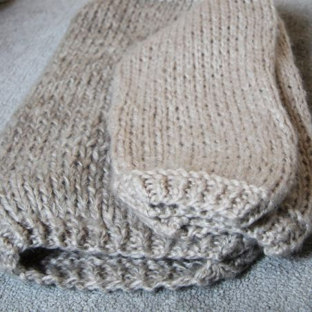 Hand knit oversized loose off the shoulder sweater