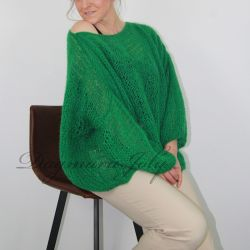 Hand knitted oversized...