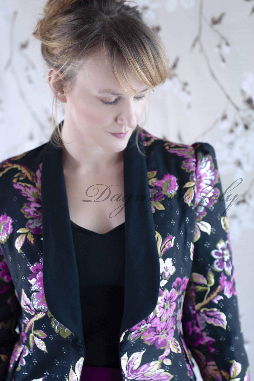Ladies floral jacket