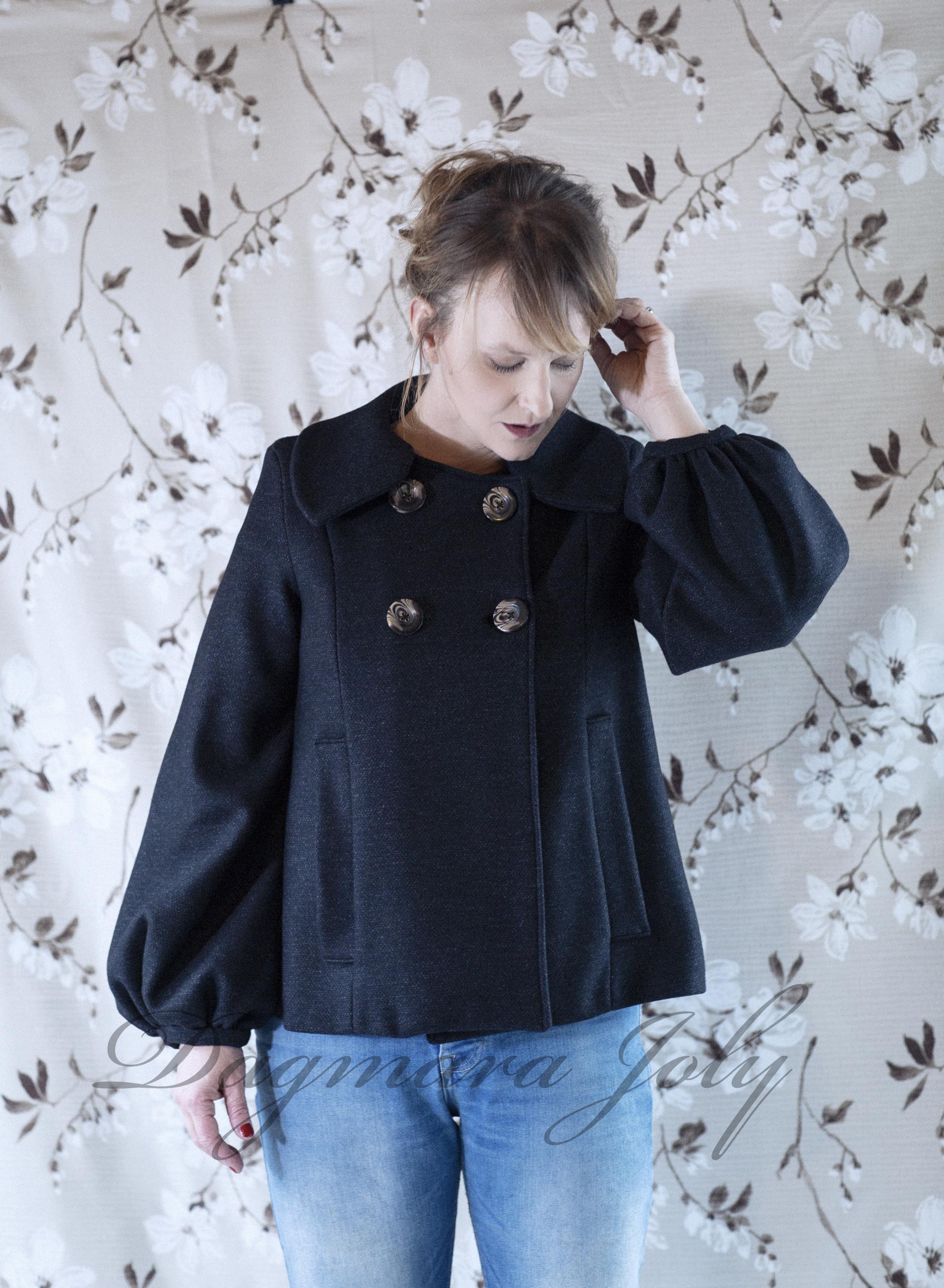 Manteau court femme