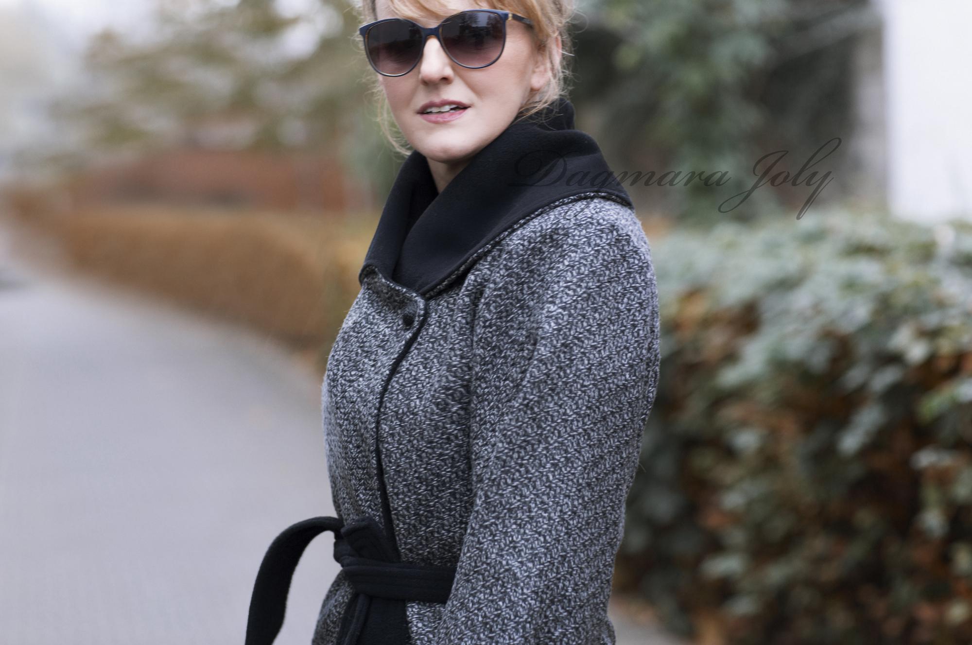Ladies gray coat